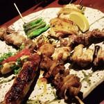 串焼きダイニング 串の介 - 料理写真:串焼き8本盛り