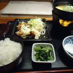 87020821 - 肉豆腐チキン南蛮セット