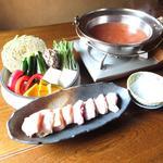 猿のしっぽ - トムヤム味噌鍋