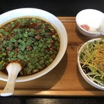 佳佳苑 - 黒胡麻担々麺