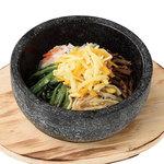 熟成焼肉いちばん  - 石焼チーズビビンバ