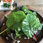 オイモカフェ - 野菜プレート