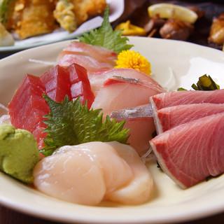 安くて旨い◎生け簀から新鮮な魚介をご提供いたします!