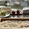 蓼 - 料理写真:板そば 中盛り 1200円