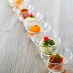 Restaurant Forest Coast - デザートのようなビジュアルのポテトサラダ