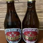 盛田金しゃちビール犬山工場 - ミツボシビール(ピルスナ―&ヴァイツェン)