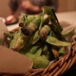 福炎や - 焼き枝豆