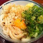 楽釜製麺所 ラパーク瑞江直売店 - 釜玉うどん