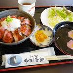 見附茶屋 - 能登丼:1800円