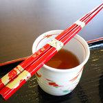 見附茶屋 - お土産?の箸