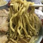 ラーメン富士丸 - 【2018.6.1】加水率低めのボキボキ中太麺。