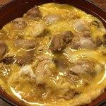 87031364 - 卵がトロトロで、甘めのタレがとても美味しいです。