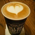 オールデイコーヒー - カフェラテ