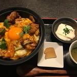 87031948 - ランチ「極上親子丼と稲庭うどんセット」