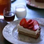 ニワカフェ - 料理写真:日替わりタルト