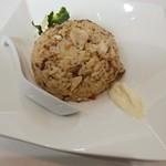 鶏蕎麦かかし - チャーシュー炊き込みご飯