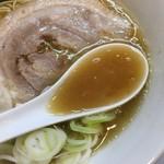 麺屋 瑞風 - 鶏白湯スープ