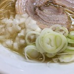 麺屋 瑞風 - 刻みタマネギとネギ