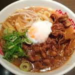 徳福 - 肉玉そば¥980