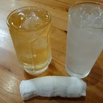 未来餃子軒 - ドリンク写真:レモンサワ-&ハイボ-ル