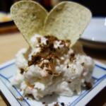 食事処 ニュー因幡 - のり塩ポテトサラダ。