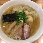 87039655 - 特製ワンタン麺(白だし)