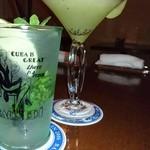 Bar ルラーシュ円山 - モヒートとキウイのカクテル