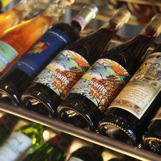 無農薬・有機栽培などの葡萄から造られた自然派ワイン
