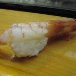 新寿司 - 適当に握られたえび