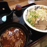 佐々木家 秋田本店 - 魚ってりつけ麺 300g