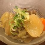 旬菜割烹 和しん - お通し 360円