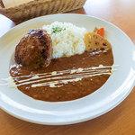 でん - 料理写真:「ハンバーグカレー」(980円)。この日は決め打ちで!