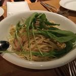 ガーデンレストラン オールデイ ダイニング - ホタテ、秋茄子のスパゲティーニ \1,400