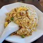 香蘭 - 香蘭(おすすめセットメニュー・タンタンメンとチャーハン 890円 ※チャーハンのアップ レギュラーサイズです)
