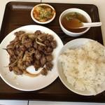 87047644 - ラム肉のクミン風炒め定食