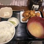 餃子と牛たん 居酒屋おおとら - 鶏の唐揚げランチ