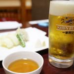 入道 - キリン一番搾り生(中)