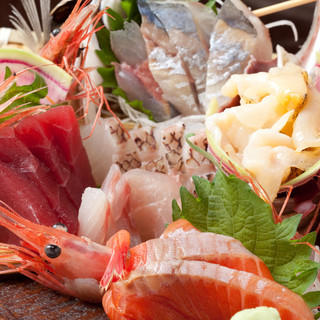 鮮度満点!活〆鮮魚が旨い!
