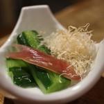 天ぷらスタンド KITSUNE - 合わせ野菜