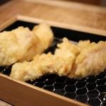 天ぷらスタンド KITSUNE - 名物 とり天