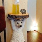ジェラート専門店 SUGITORA - 熊さんのとこにはセルフの「緑茶」が^^♪