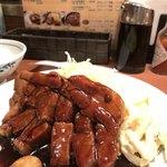 大阪トンテキ - 四日市名物とのこと。820。お肉のぷりぷり感も良い