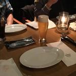 ガーデンレストラン オールデイ ダイニング - 私は「ザ・モルツ生ビール(\650)」でカンパ~イ!