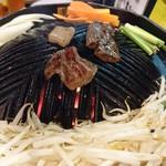 87053883 - 生ラム&野菜