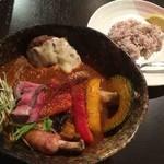 スープカレーと季節野菜ダイニング 彩 - 肉三昧スープカレー彩スペシャル