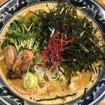 佐市 - 牡蠣ラーメン900円