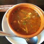 8706512 - ランチセットのスープ