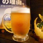 どんちゃん - 生ビール
