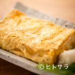 手打ち蕎麦 いしはら - まずはこれ! 濃厚な卵×一番出汁で仕上げる『出汁巻き』