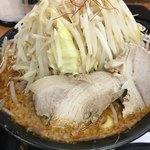 麺賊 夢我夢中 - 紅の豚、野菜増し